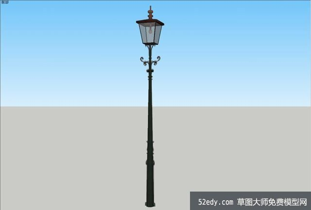 "su模型主题内容包含""欧式路灯的设计设计本模型下载"